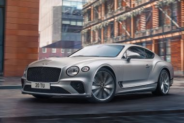 Bentley Continental GT Speed стал самой быстрой дорожной машиной в истории бренда