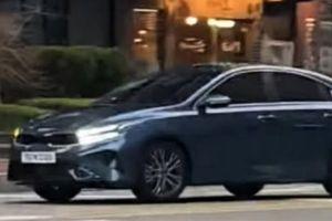 Kia подготовила рестайлинг Cerato: машину уже заметили в Корее