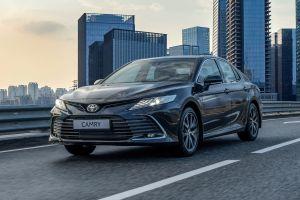 В России стартовал прием заказов на обновленную Toyota Camry