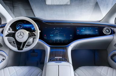 Mercedes-Benz полностью показал салон электрического аналога S-Class
