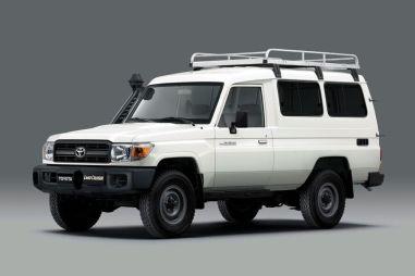 Toyota Land Cruiser серии 70 превратили в машину для перевозки вакцин