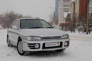 Народное ретро. Subaru Impreza GF 1995 года. Магия имени