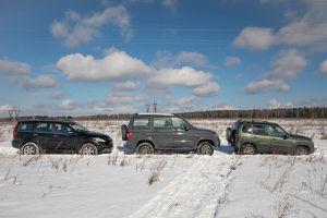 Блог Lada Niva Travel. Haval H5 vs Lada Niva vs UAZ Patriot. Трио совершеннолетних