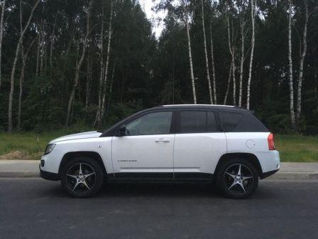 Jeep Compass 2012 - отзыв владельца