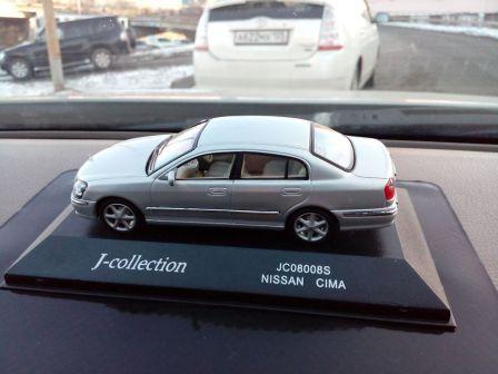 Nissan Cima 2001 - отзыв владельца