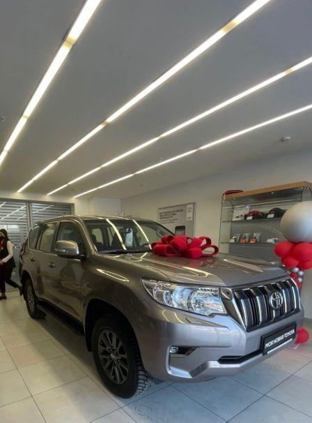 Toyota Land Cruiser Prado 2020 - отзыв владельца