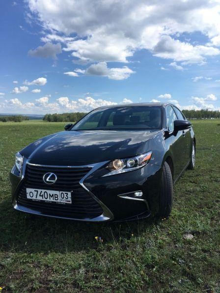 Lexus ES250 2017 - отзыв владельца