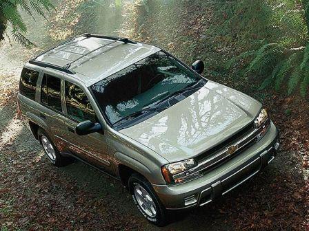 Chevrolet TrailBlazer 2003 - отзыв владельца