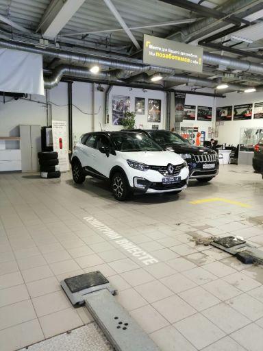 Renault Kaptur 2021 отзыв автора | Дата публикации 22.03.2021.