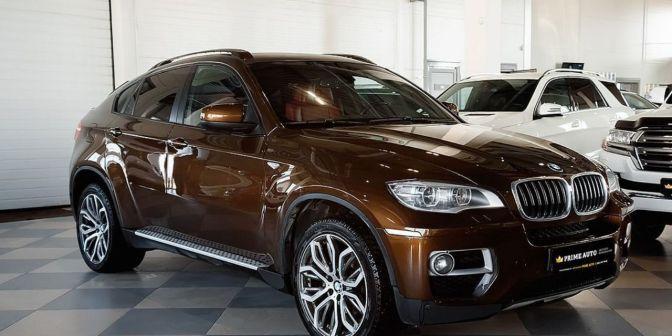 BMW X6 2013 - отзыв владельца