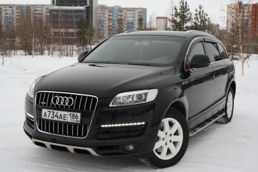 Audi Q7 2006 - отзыв владельца