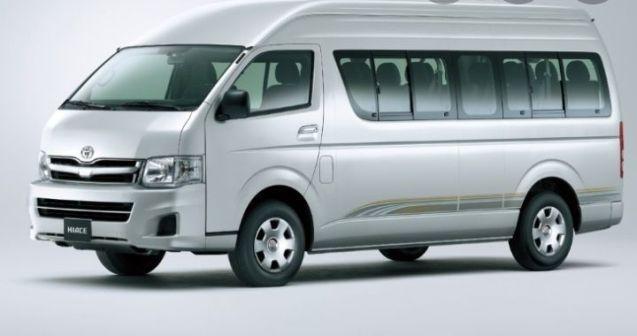 Toyota Hiace 2008 - отзыв владельца