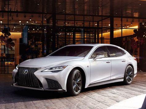 Lexus LS350 (XF50) 07.2020 -  н.в.