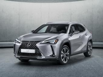 Lexus UX встречай рассвет в движении
