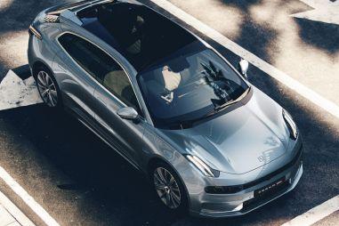 Geely показала первую модель электромобильного бренда Zeekr