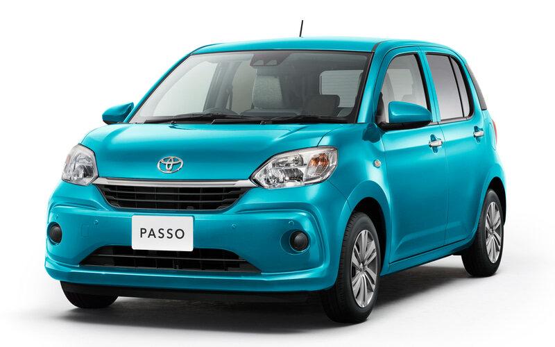 Toyota Passo и Daihatsu Boon обновили: они стали безопаснее