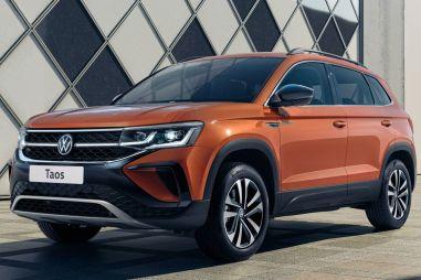 Кроссовер Volkswagen Taos для России: стали известны комплектации
