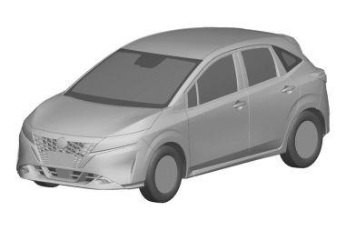 Nissan запатентовал в России две новинки