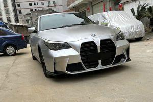 Для BMW 5-Series E60 выпущен бампер с огромными «ноздрями» в стиле новых «эмок»
