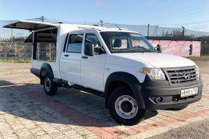 УАЗ выпустил новый фургон на базе грузовика Профи