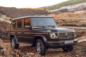Mercedes-Benz зарегистрировал название для электрического G-Class