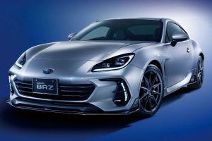 Subaru выпустила заводские аксессуары для купе BRZ нового поколения