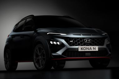 Hyundai рассказала подробности о спортивном кроссовере Kona N