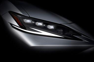 Lexus представит обновленный ES и концепт электромобиля на выставке в Шанхае