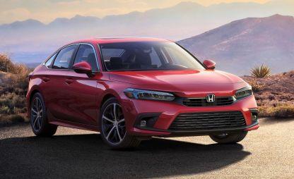 Honda Civic одиннадцатого поколения: первое фото