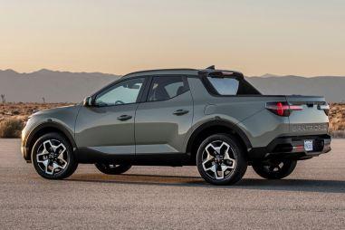 Hyundai представила компактный пикап Santa Cruz