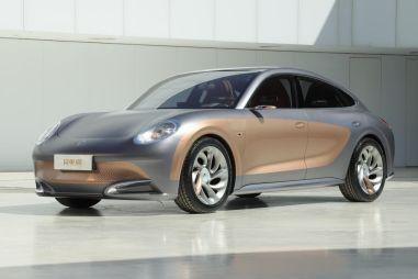 Great Wall выпустит бюджетный электромобиль с дизайном под Porsche Panamera (ФОТО)