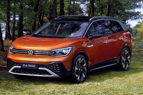 Volkswagen ID.6 стал первым трехрядным электромобилем компании