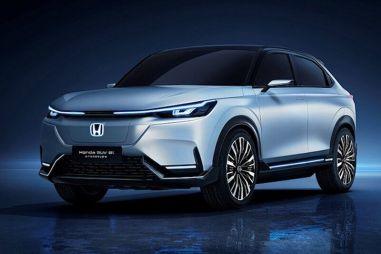 Honda показала свой первый электрический кроссовер