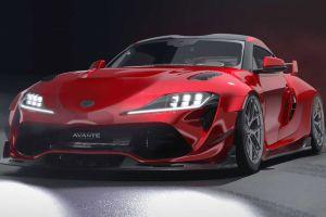 Для Toyota Supra разработали новый тюнинговый комплект