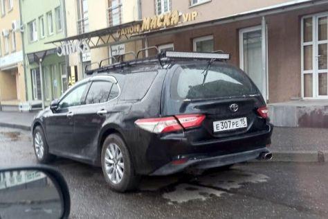 В России обнаружили уникальную Camry-универсал (ФОТО)