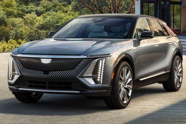 Cadillac показал серийную версию своего первого электромобиля Lyriq