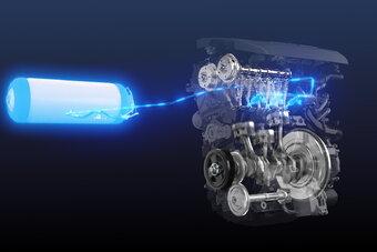 Кольцевой болид с двигателем на водороде дебютирует в конце мая.