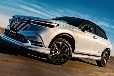 Honda представила кроссовер HR-V для Европы, а Mugen выпустил обвес
