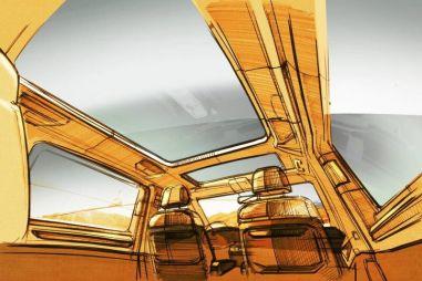 Volkswagen Multivan T7 получит гигантскую панорамную стеклянную крышу