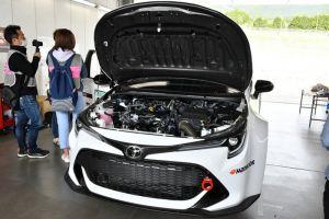 Toyota показала первый в своей истории водородный болид