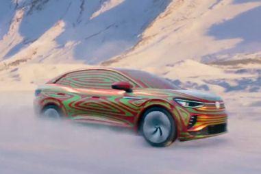 Volkswagen показал на видео перспективный купе-кроссовер ID5 GTX