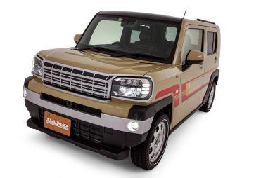 В Японии выпустили тюнинг для Daihatsu Taft под стиль 80-х и Дефендера