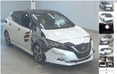 Сколько стоит купить и восстановить битый Nissan Leaf, моя история
