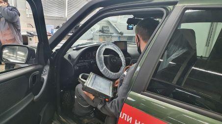 Блог Lada Niva Travel. Машине нет и месяца, а мы уже спешим в сервис!