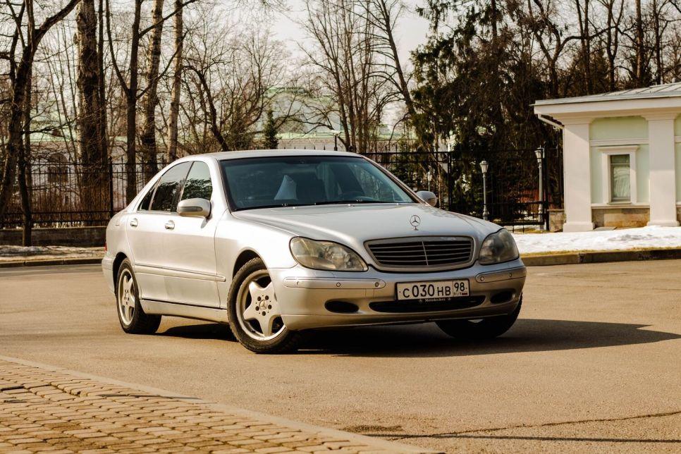 Mercedes W220 с пробегом 260 000. Жизнь S-класса продолжается!