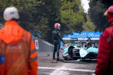 11 аварий на гонках в Риме. Формула E пошла вразнос