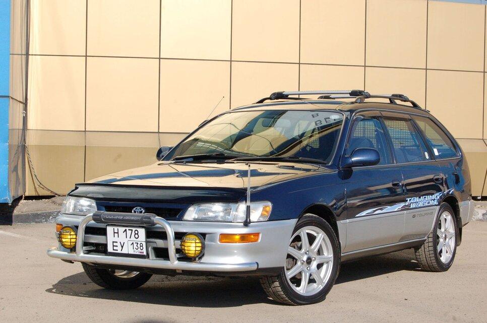 Народное ретро. Toyota Corolla Touring Wagon AE100 1994 года. Все сущности «сарая»1