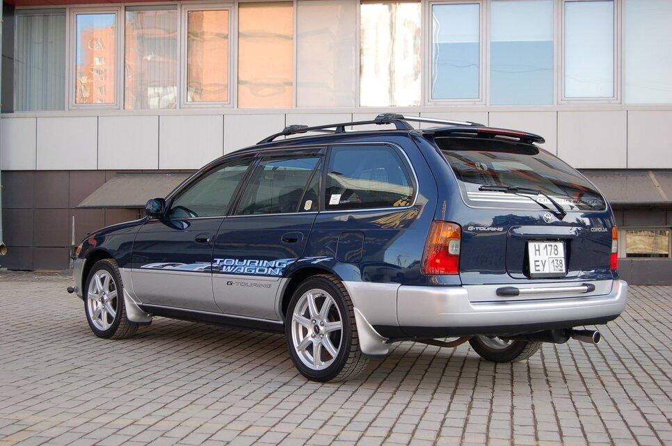 Народное ретро. Toyota Corolla Touring Wagon AE100 1994 года. Все сущности «сарая»3