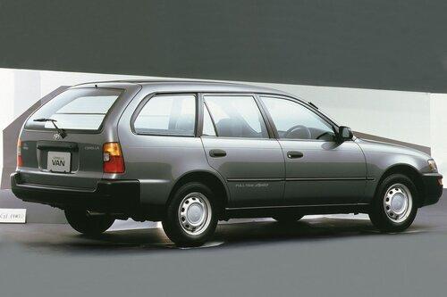 Народное ретро. Toyota Corolla Touring Wagon AE100 1994 года. Все сущности «сарая»5