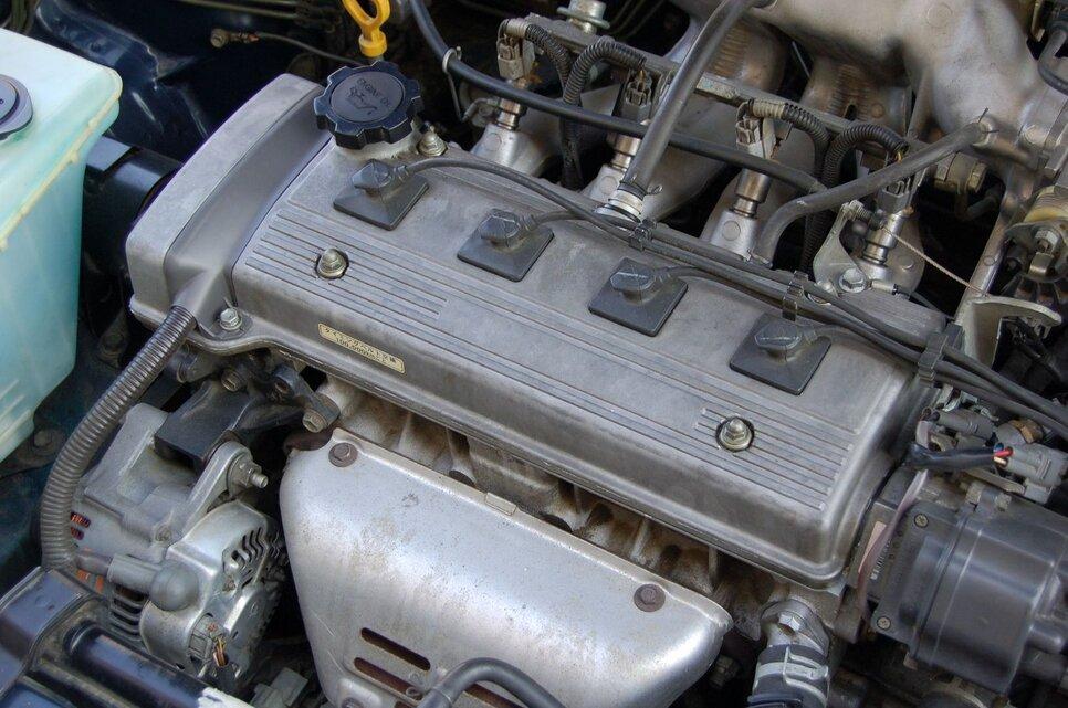 Народное ретро. Toyota Corolla Touring Wagon AE100 1994 года. Все сущности «сарая»12